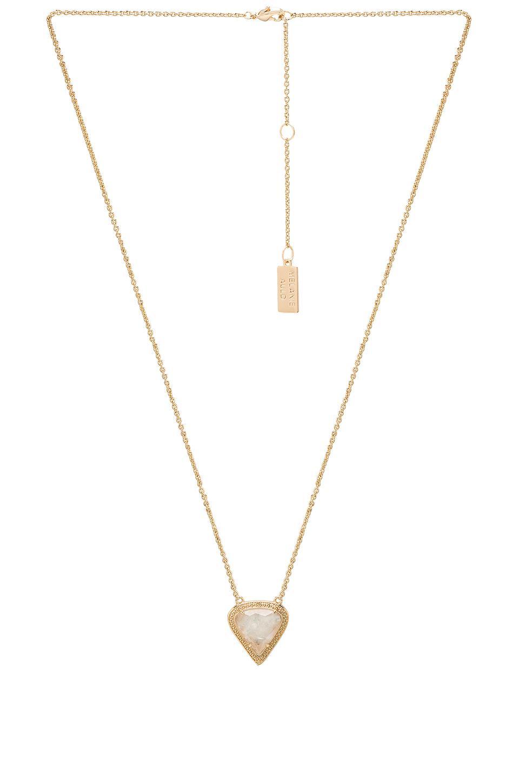 by ARTEMIS Lyra Necklace in Metallic Gold Melanie Auld KUFhI0o