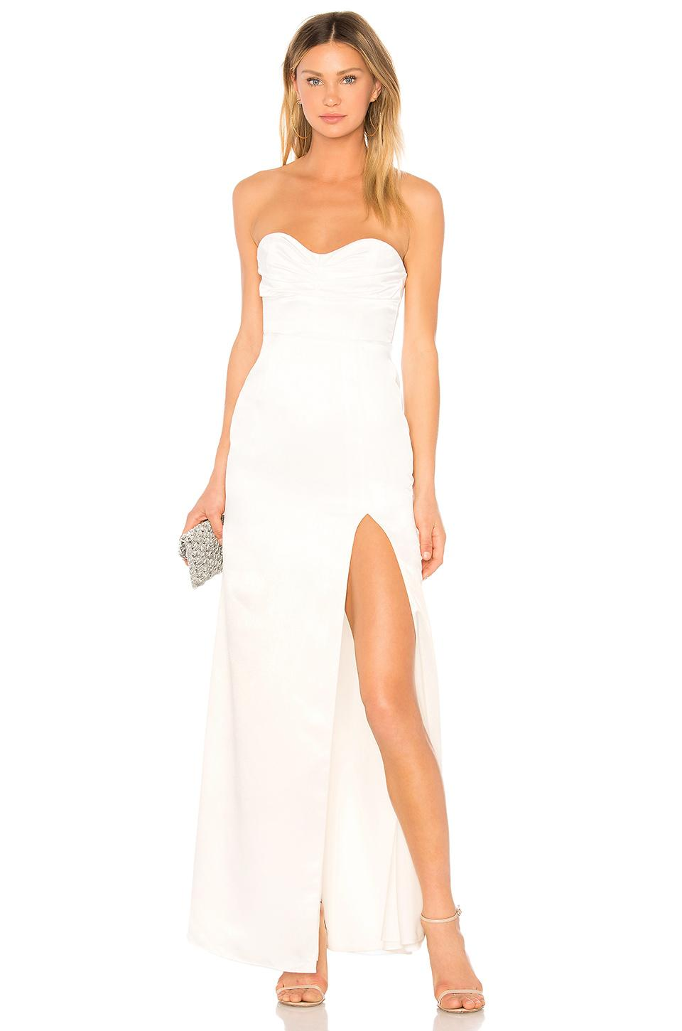 a47d1b96 Lovers + Friends Jamie Gown in White - Lyst