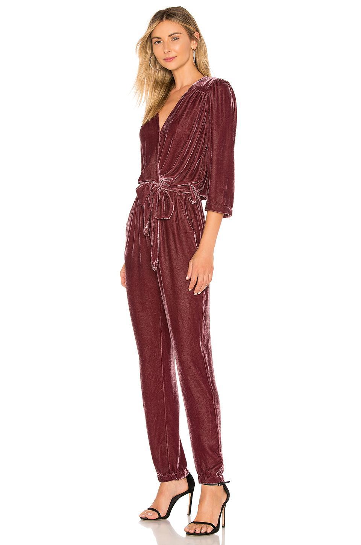 b008998252b6 Young Fabulous   Broke - Red Bellows Jumpsuit - Lyst. View fullscreen
