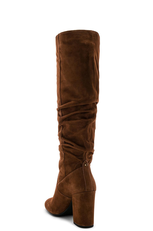 bf6c8b3d05e COACH - Brown Graham Slouchy Heel Boot - Lyst. View fullscreen