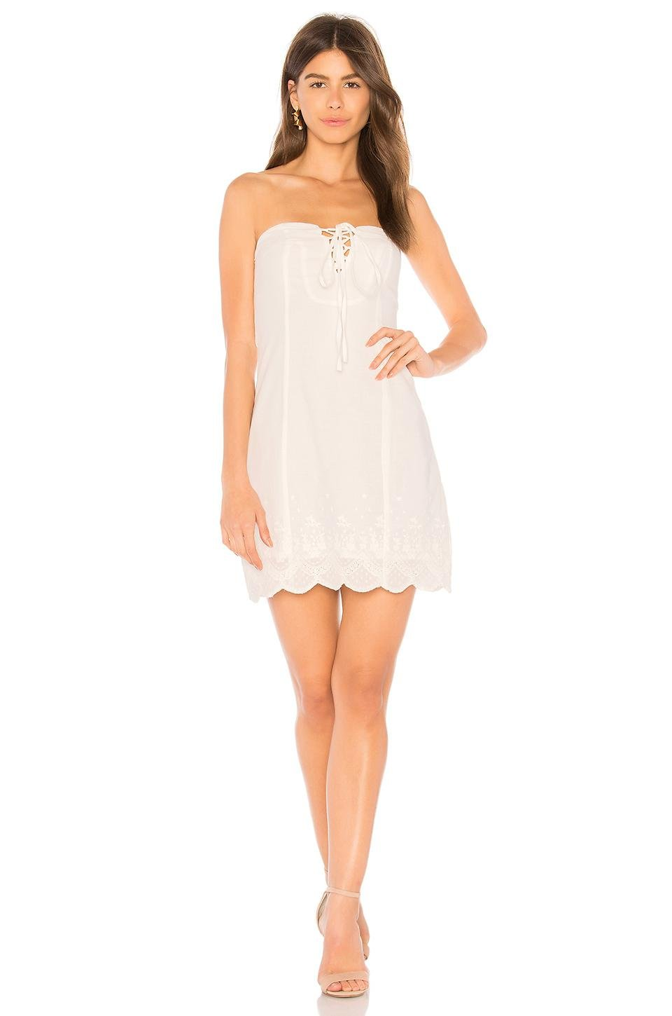 d2330ddfff19 Lyst - Somedays Lovin Moving Stars Bandeau Dress In White in White