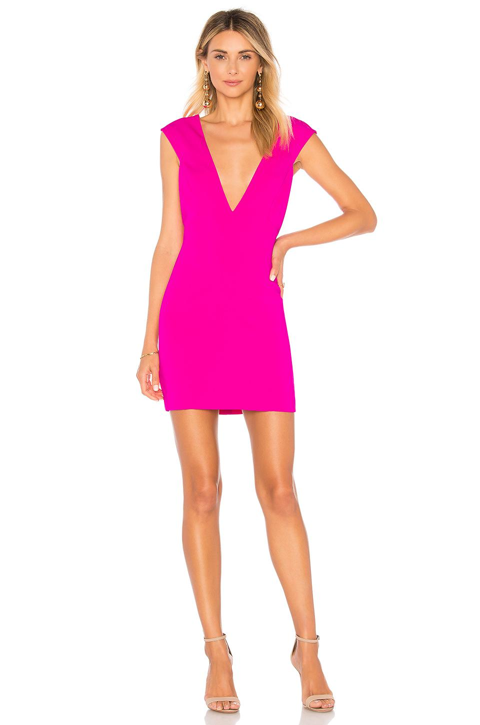 Lyst Jay Godfrey Sophie Mini Dress In Pink