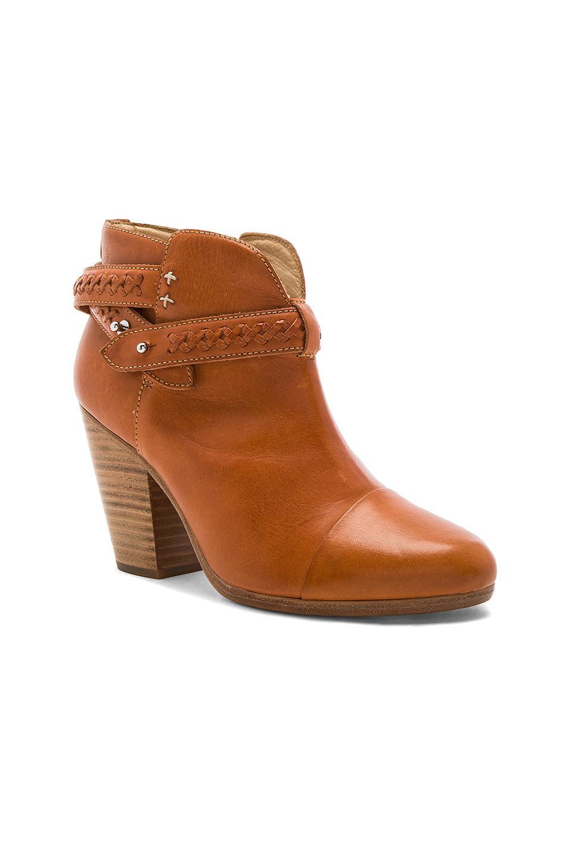 Rag Amp Bone Leather Harrow Boot In Brown Lyst