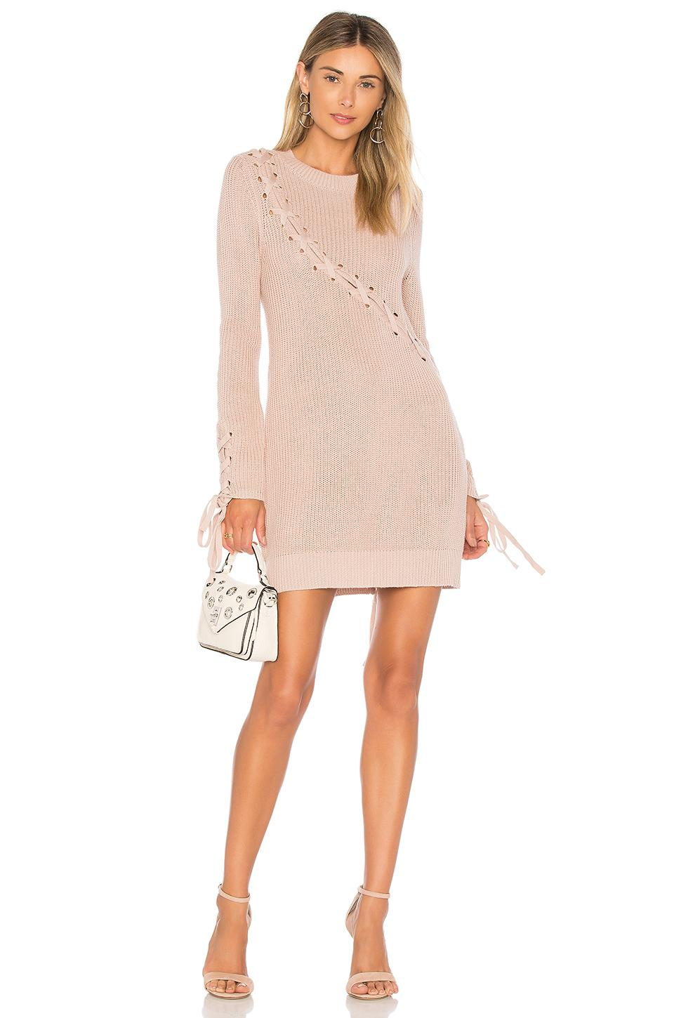 095f069dc4d Lovers + Friends I m Worthy Sweater in Pink - Lyst