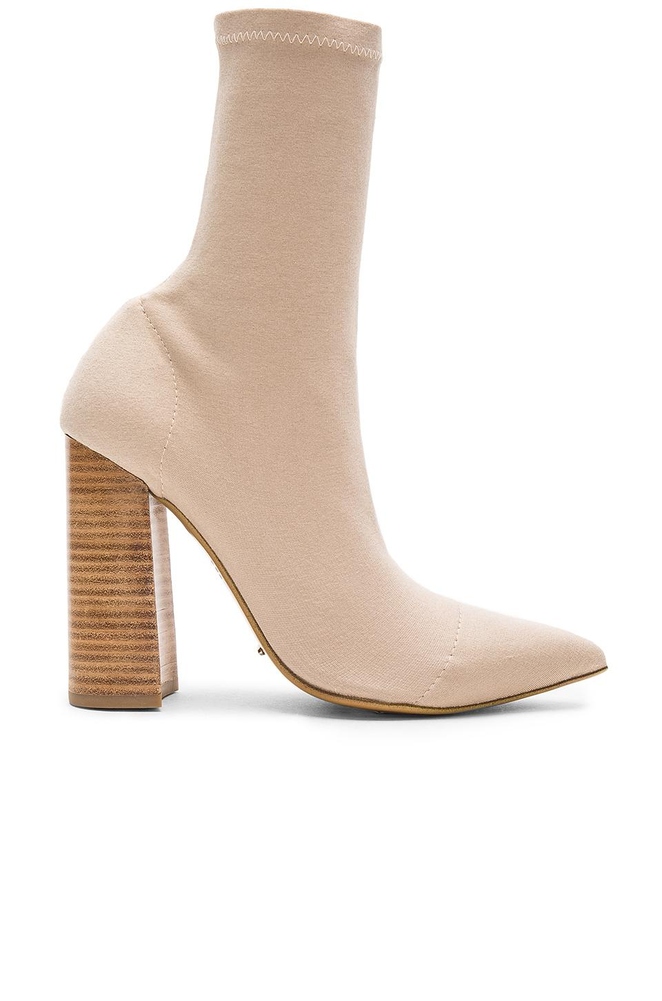Tony Bianco Diddy Bootie In Sand Onyx Natural Lyst