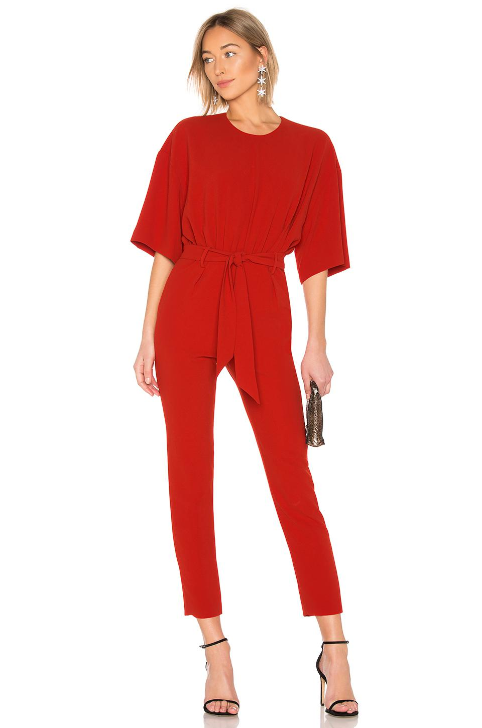 fe064293ca12 IRO Appreciate Jumpsuit in Red - Lyst
