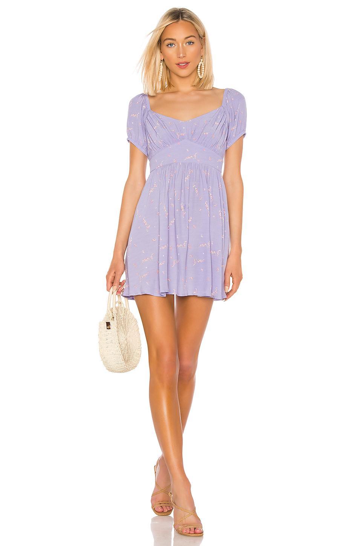 f52039f956 Lyst - Auguste Clementine Bonne Mini Dress in Purple