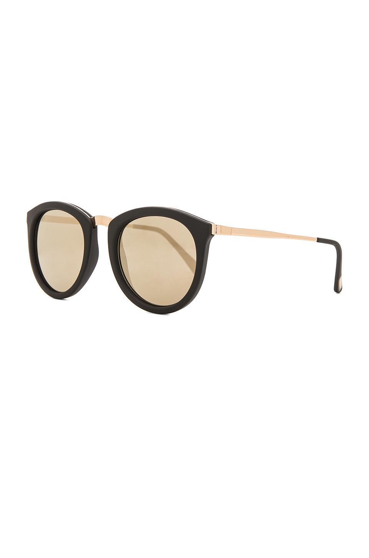 69f44e8a8e0 Le Specs - Black No Smirking Sunglasses - Lyst. View fullscreen