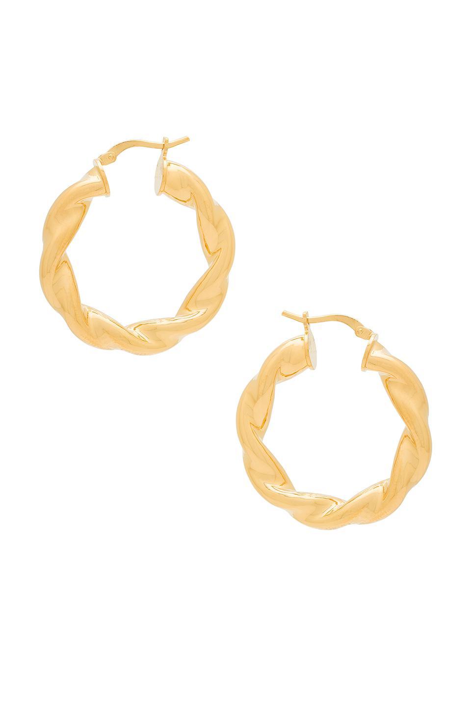 Kenzie Earring in Metallic Gold Amber Sceats xPlyywp7yH