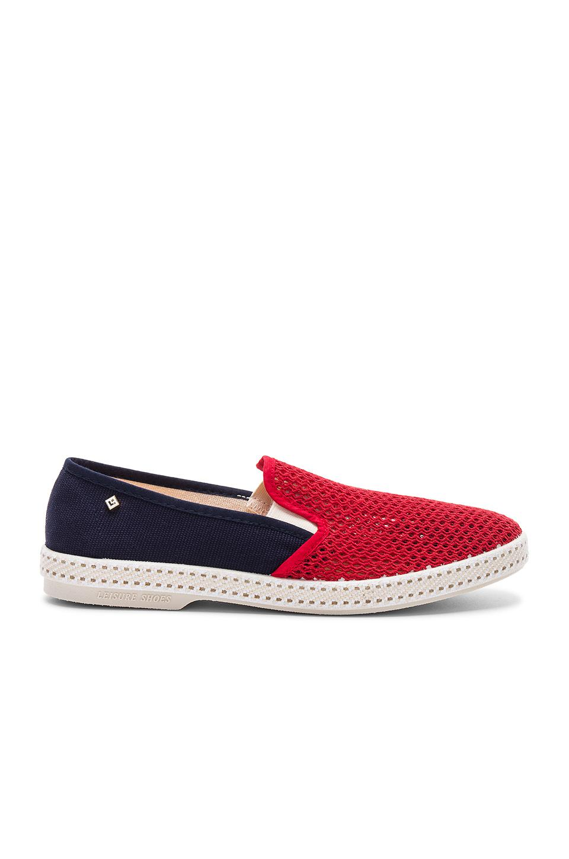 RIVIERAS LEISURE SHOES Tour Du Monde Boat Slip-On Sneaker wTllF
