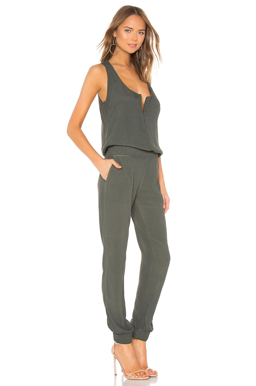 8c938340940 Monrow - Gray Crepe Jumpsuit - Lyst. View fullscreen