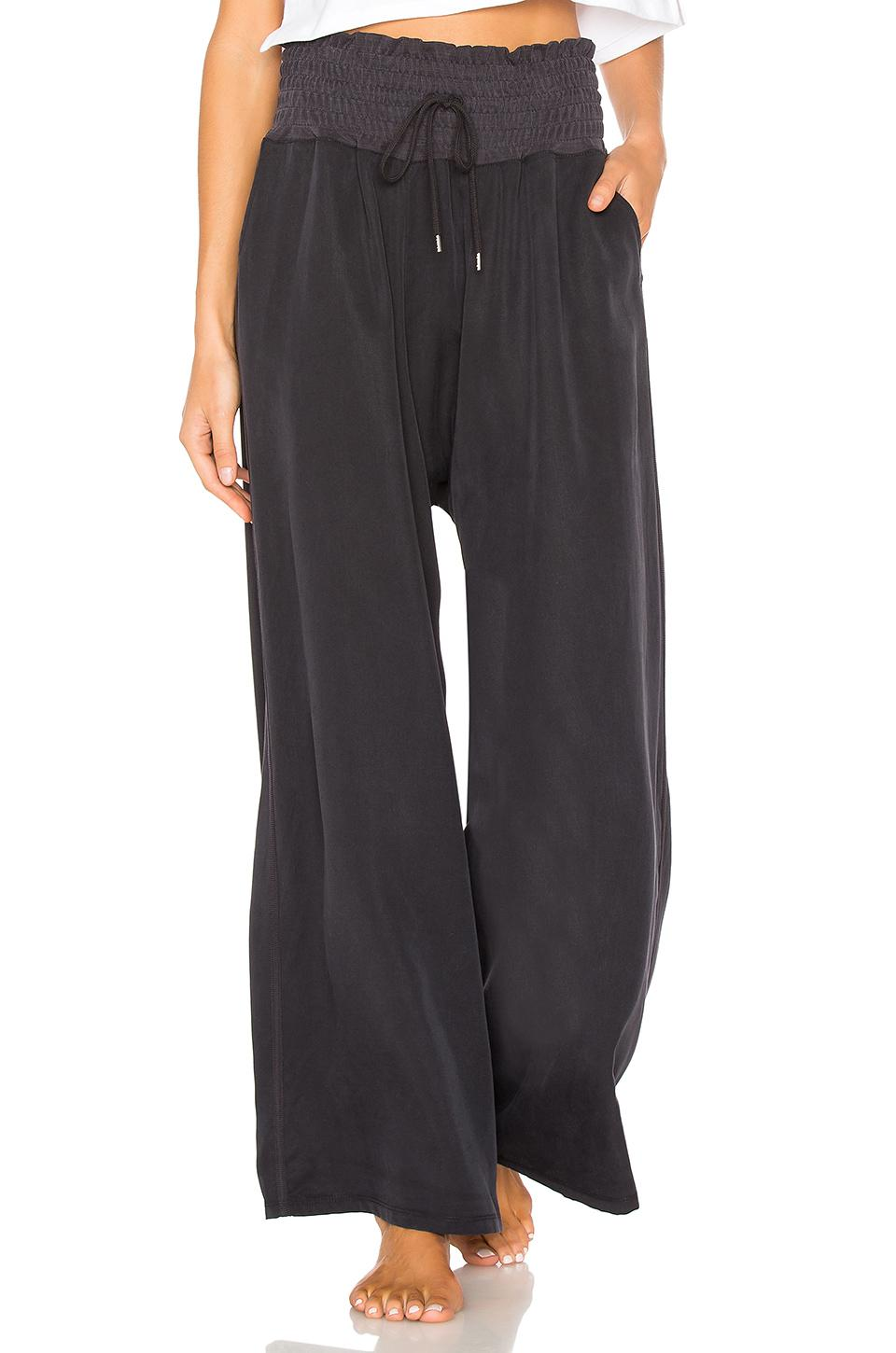 Lyst - Free People Movement Mia Pant in Black a74391fec