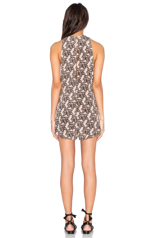 68d8d6f4c0ba Lyst - Acacia Swimwear Haiku Silk Romper in Black