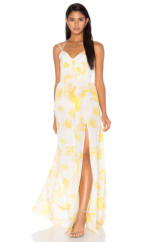 cab0ea5e60 Lyst - Amanda Uprichard Rio Maxi Dress in White