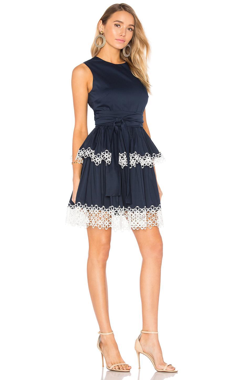 Lyst Alexis Desiree Dress In Blue