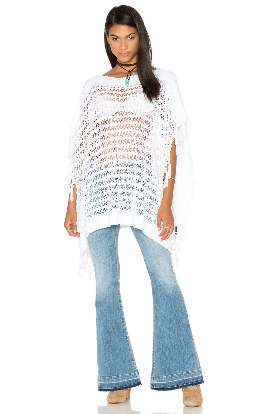 Long Cardigan Sweater With Side Slits