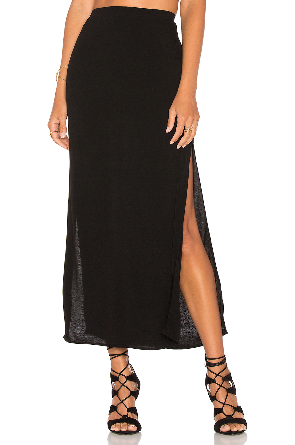 You will love the way you look in this sexy, beautifully-designed two piece skirt and crop top. It is made from a gauzy, semi-sheer, high quality cotton fabric that is wonderfully comfortable.