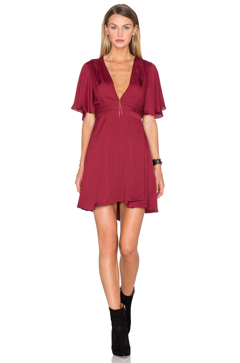 House Of Harlow 1960 X Revolve Harper Wrap Dress Lyst