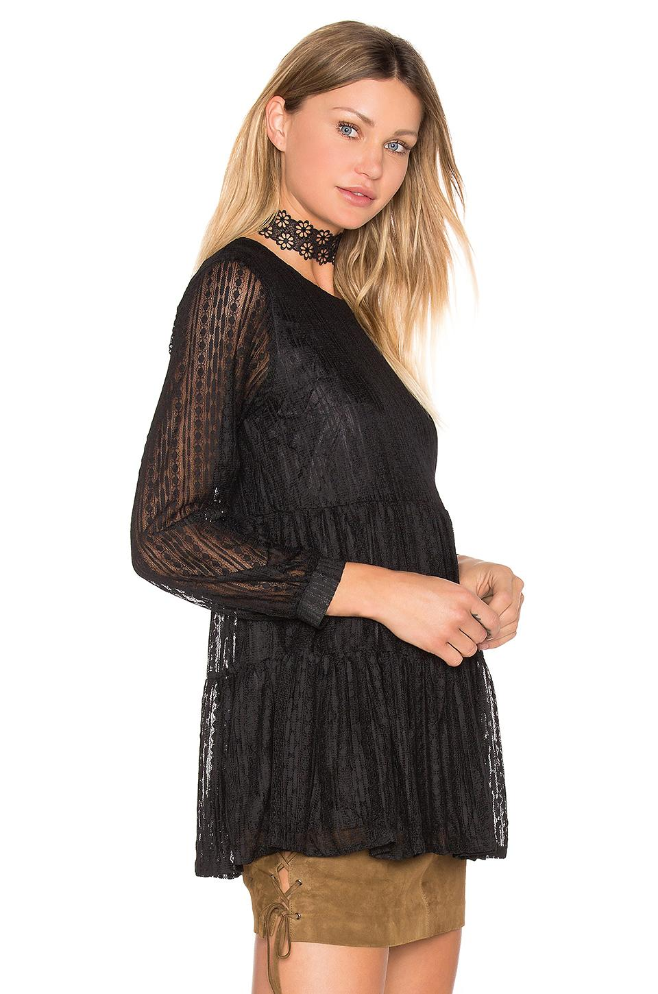 Shipping Discount Authentic Clearance Big Sale More Amore Lace Tunic in Black Raga Clearance Original Real Cheap Price Reliable Cheap Online EhL5Na96M