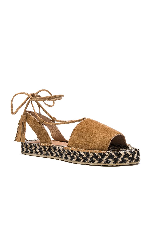 Raye Devon Sandal In Brown Tan Amp Multi Weave Lyst