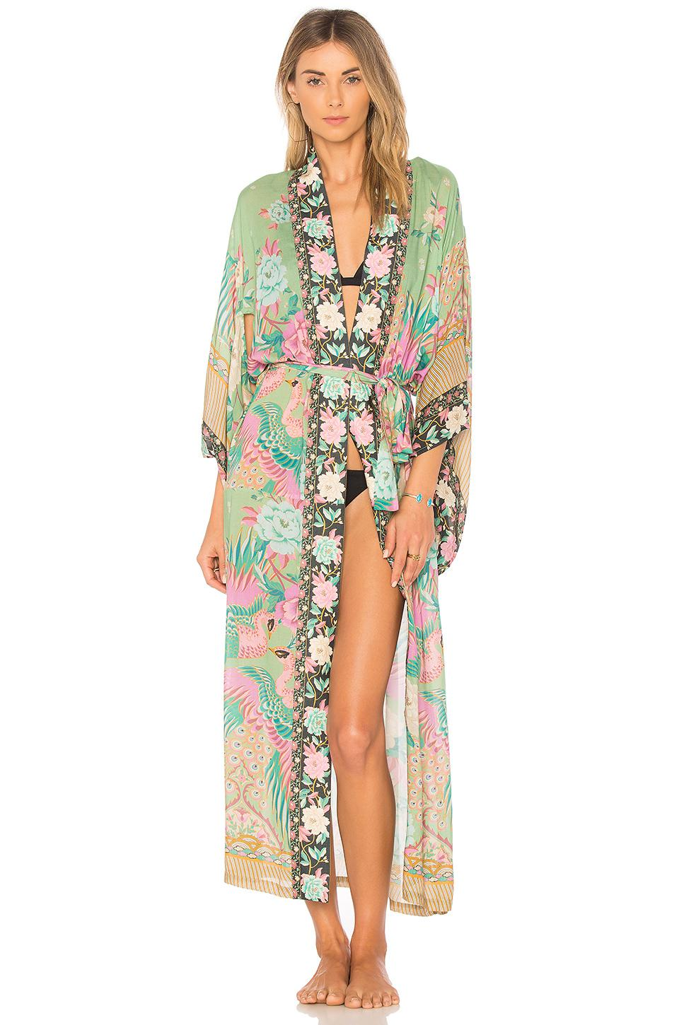 039d56fd4bf Lyst - Spell   The Gypsy Collective Cloud Dancer Kimono