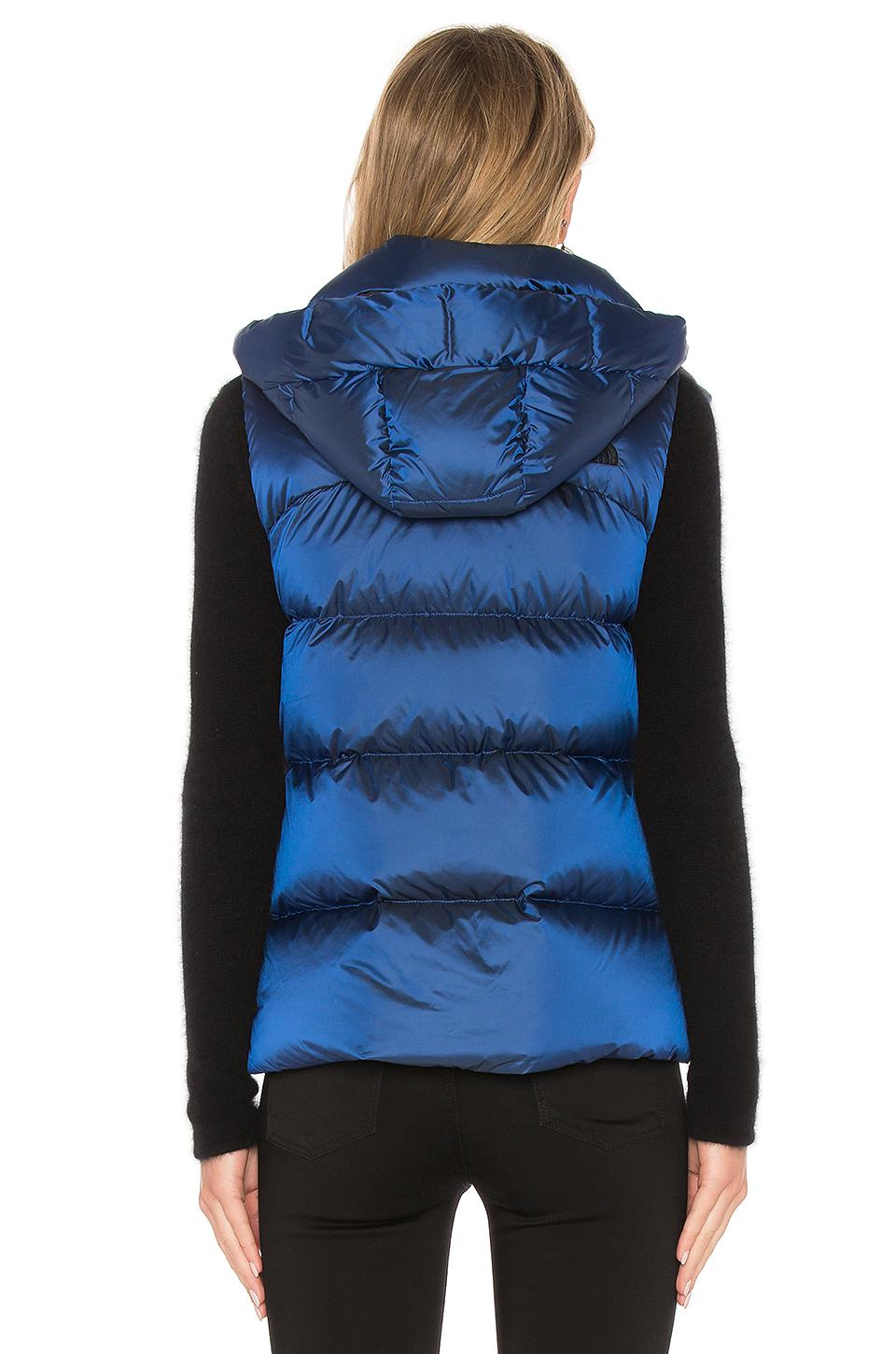 ddb8746e698d Lyst - The North Face Novelty Nuptse Vest in Blue