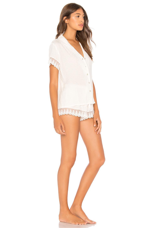 Flora Nikrooz - White Laurel Pajama Set - Lyst. View fullscreen 76b774e7b