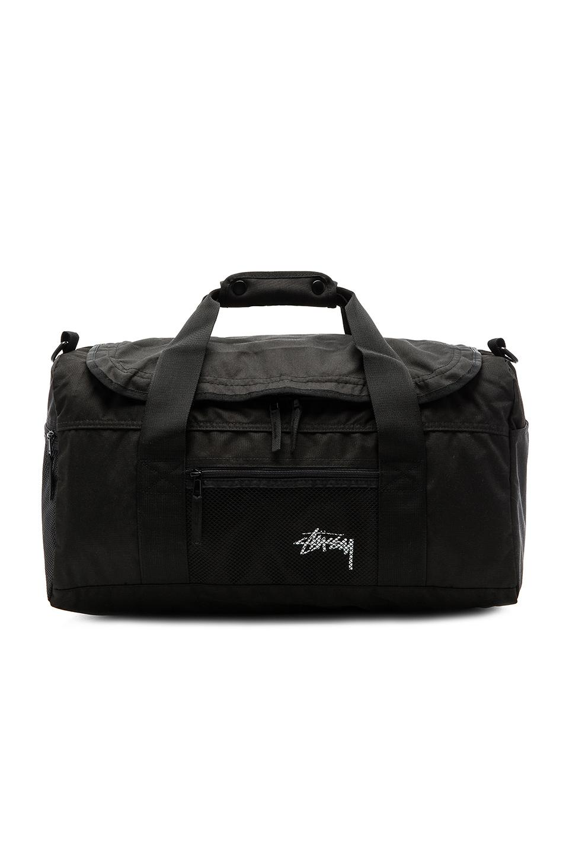 7a1f93968502 Stussy - Black Stock Duffle Bag for Men - Lyst. View fullscreen