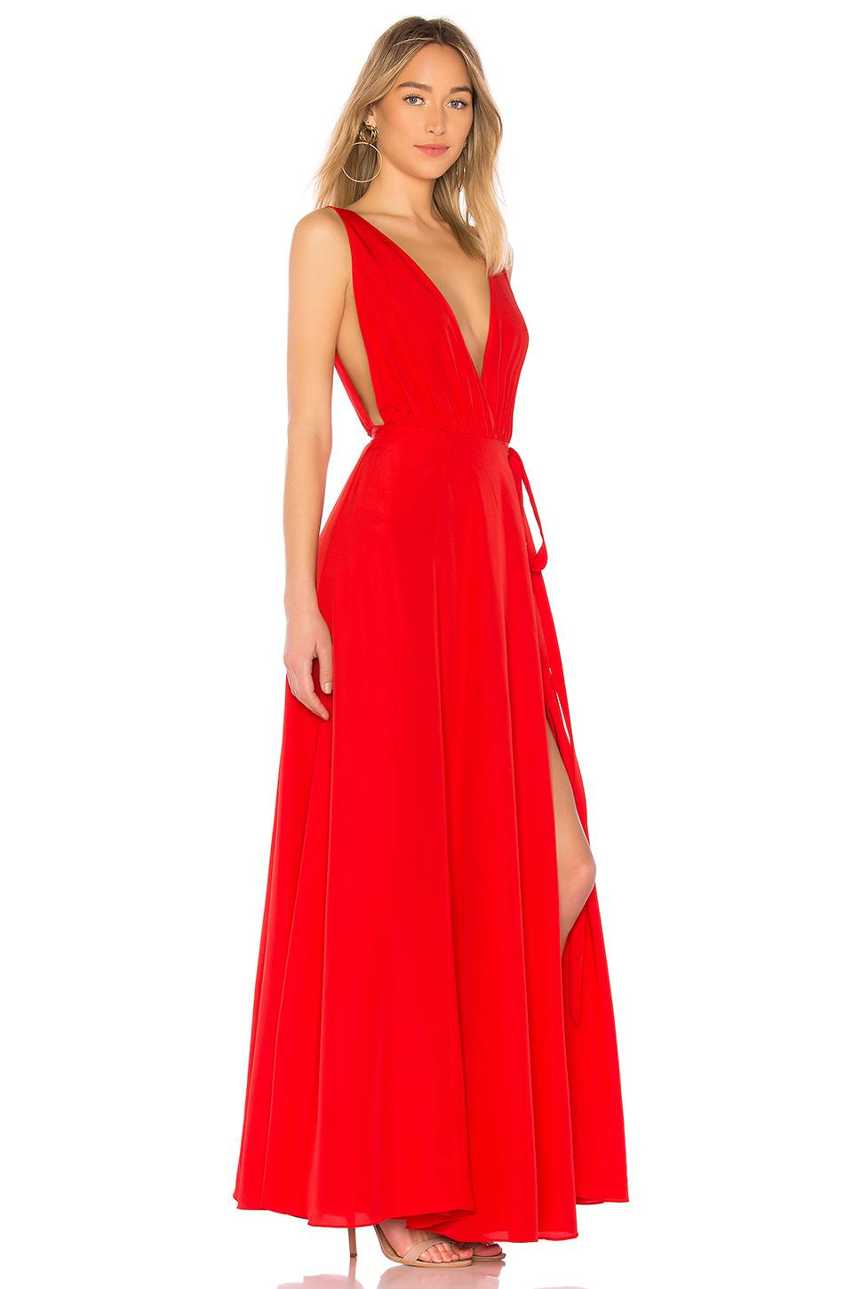 Lyst Lovers Friends Leah Gown In Red In Red