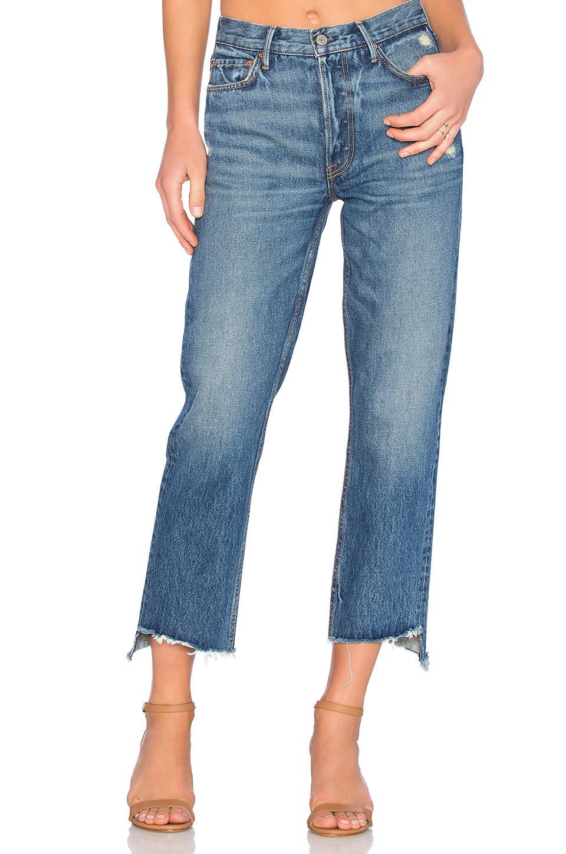 ad38c4636c82 GRLFRND - Multicolor Helena Straight Leg Jean - Lyst. View fullscreen