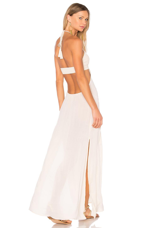 214b6553dce Indah Blaze Cutaway Maxi Dress - Lyst