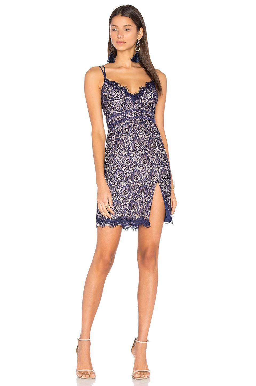 d5f8bccf73f84 Lyst - StyleStalker Adelie Mini Dress