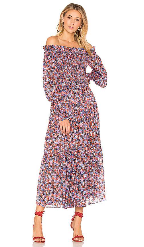 3a473ff882a8 Lyst - Rebecca Taylor Cosmic Fleur Dress