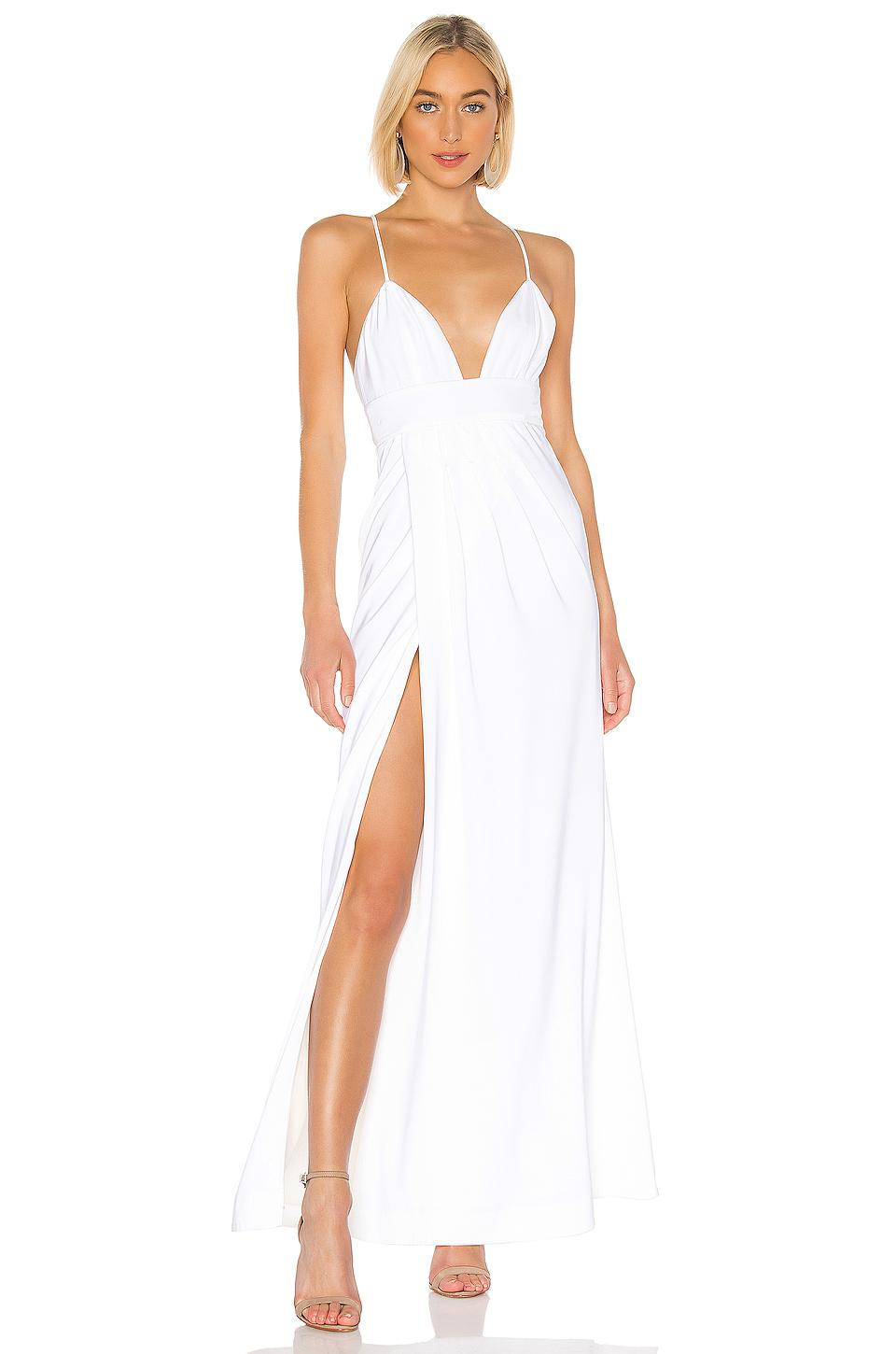 e5a20e81 Lovers + Friends Anyssa Gown in White - Lyst