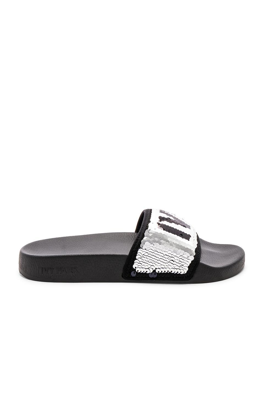 85e545f02b9e IVY PARK Shoes Ivy Park Metallic Slide Sandal Color Purple