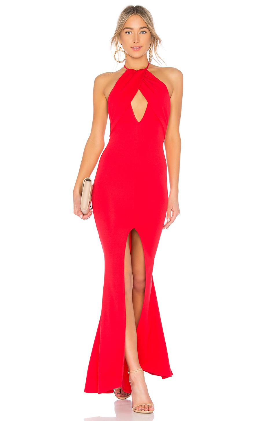 Lyst Lovers Friends Rosa Gown In Red