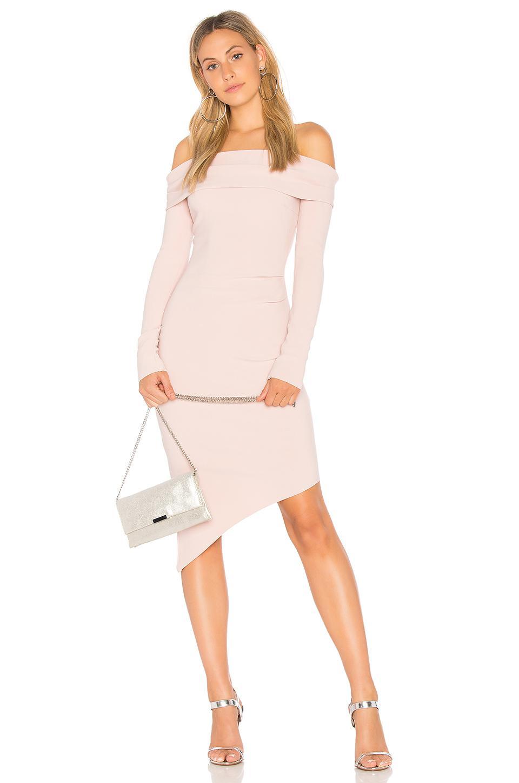 b9902f0bea Lyst - Bec   Bridge Florence Off The Shoulder Dress in Pink