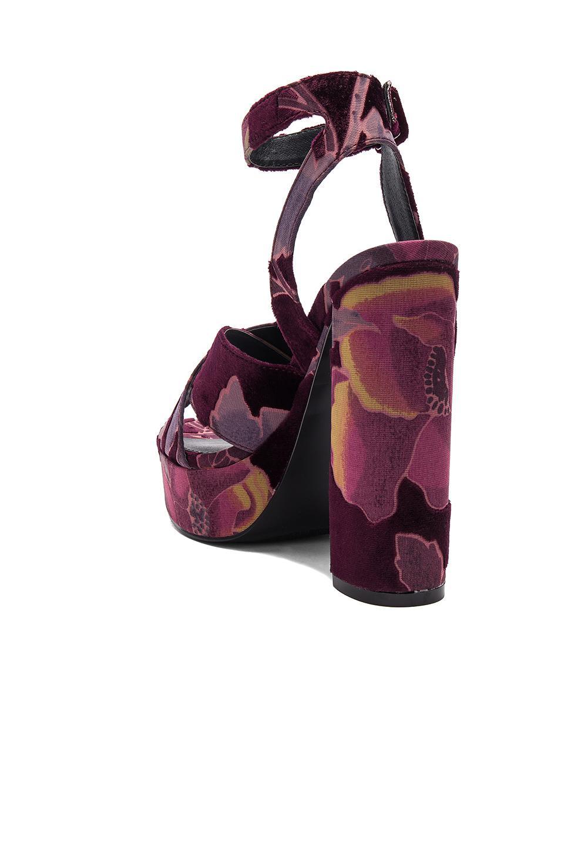 384ca17b0fb Lyst - Steve Madden Jodi Heel in Purple
