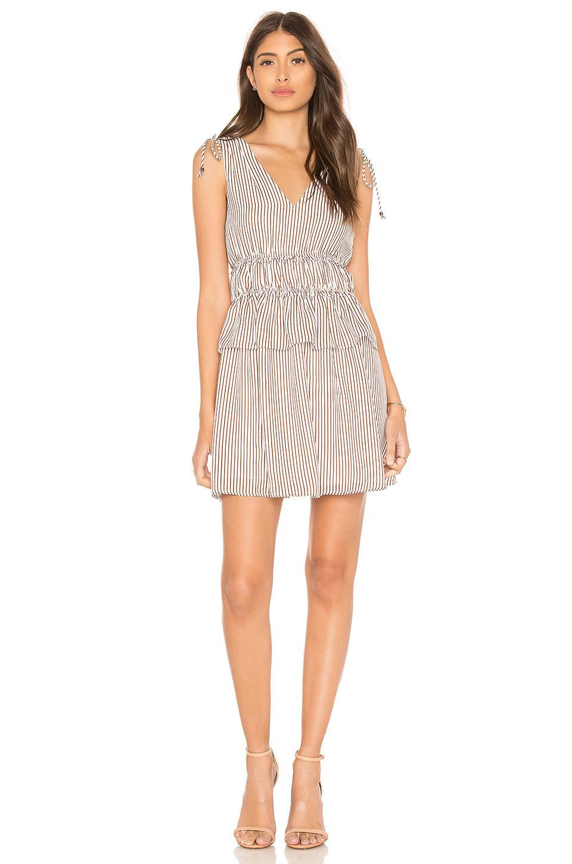 673923e2ce Lyst - Line   Dot Line   Ilayda Mini Dress in White