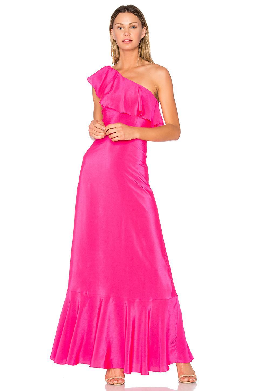 Lyst - Amanda Uprichard Sedona Maxi Dress in Pink 60e0019cbd
