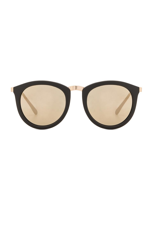 82229c0c5a1 Lyst - Le Specs No Smirking Sunglasses in Black