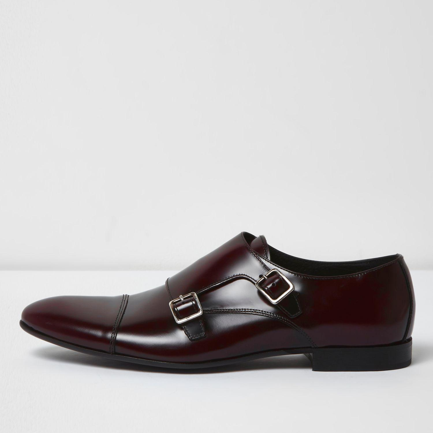 Monk Strap Shoes River Island