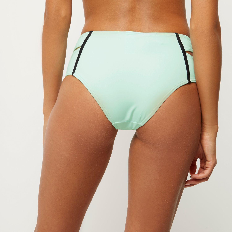 River Island Light Green Balconette Bikini Top In Green Lyst