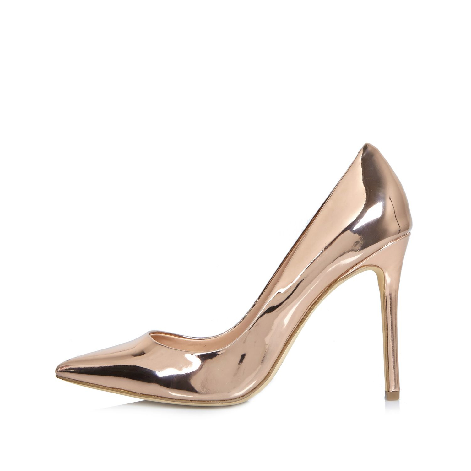 Gold High Heel Shoes Uk