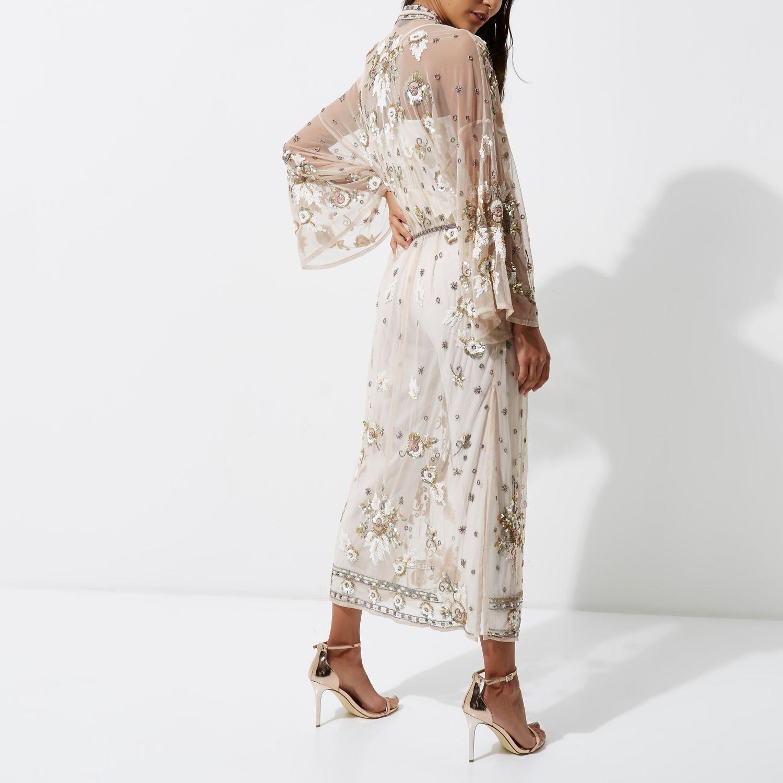 Kimono Dress Maxi