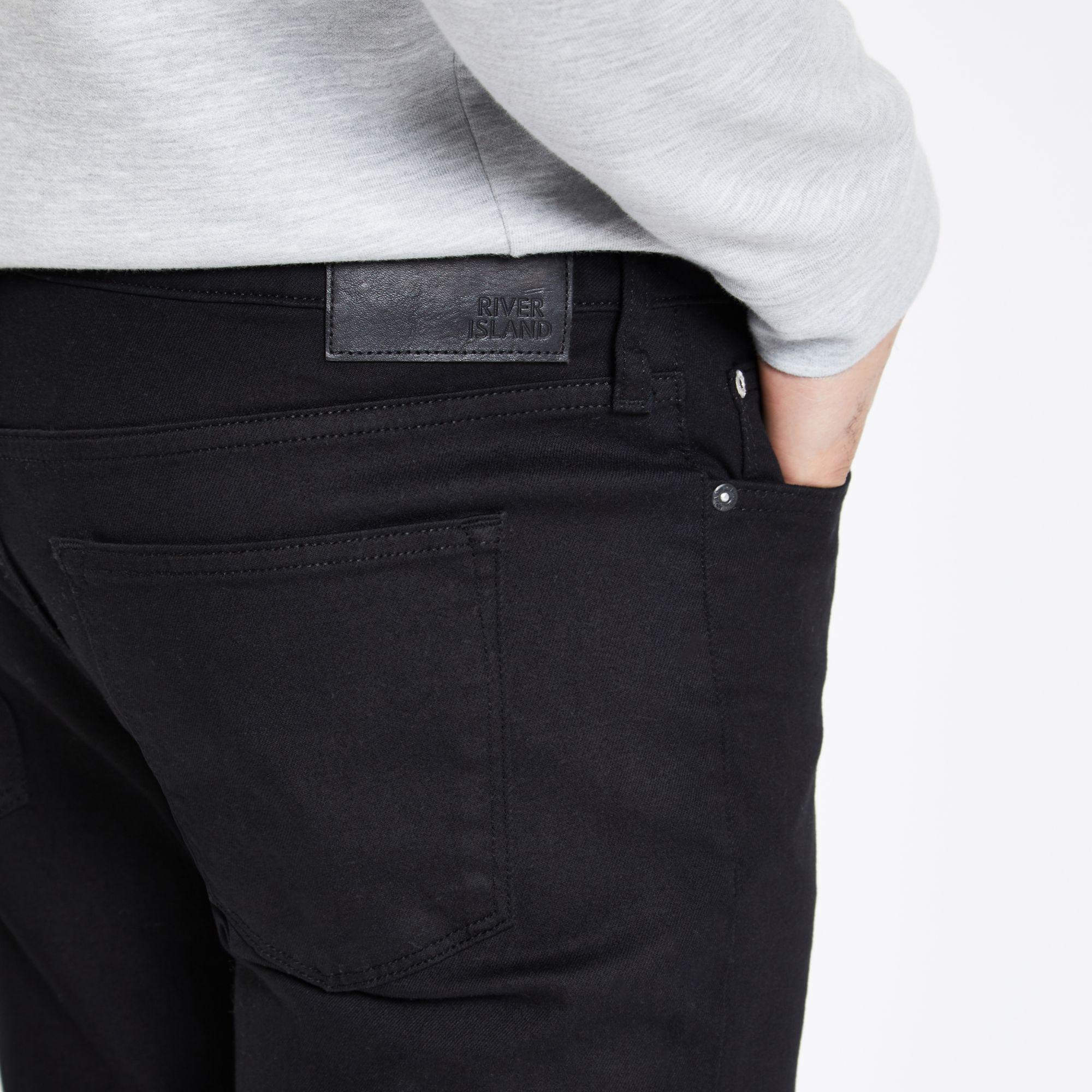 0095b7336 ... Black Slim Fit Dylan Jeans for Men - Lyst. View fullscreen