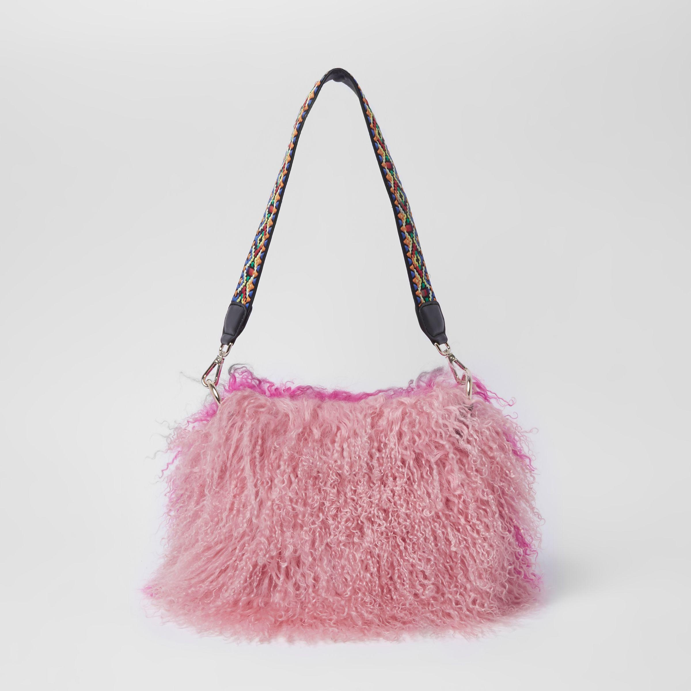 4c86b04c8f73 River Island Pink Mongolian Cross Body Bag in Pink - Lyst