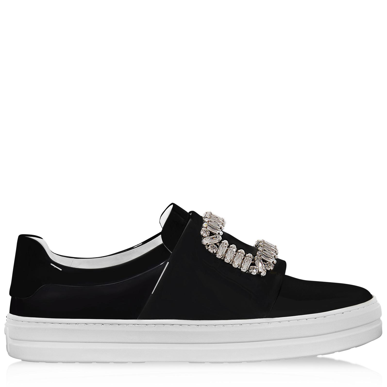Roger VivierPatent Leather Low Trainers OEfFT4Ebb