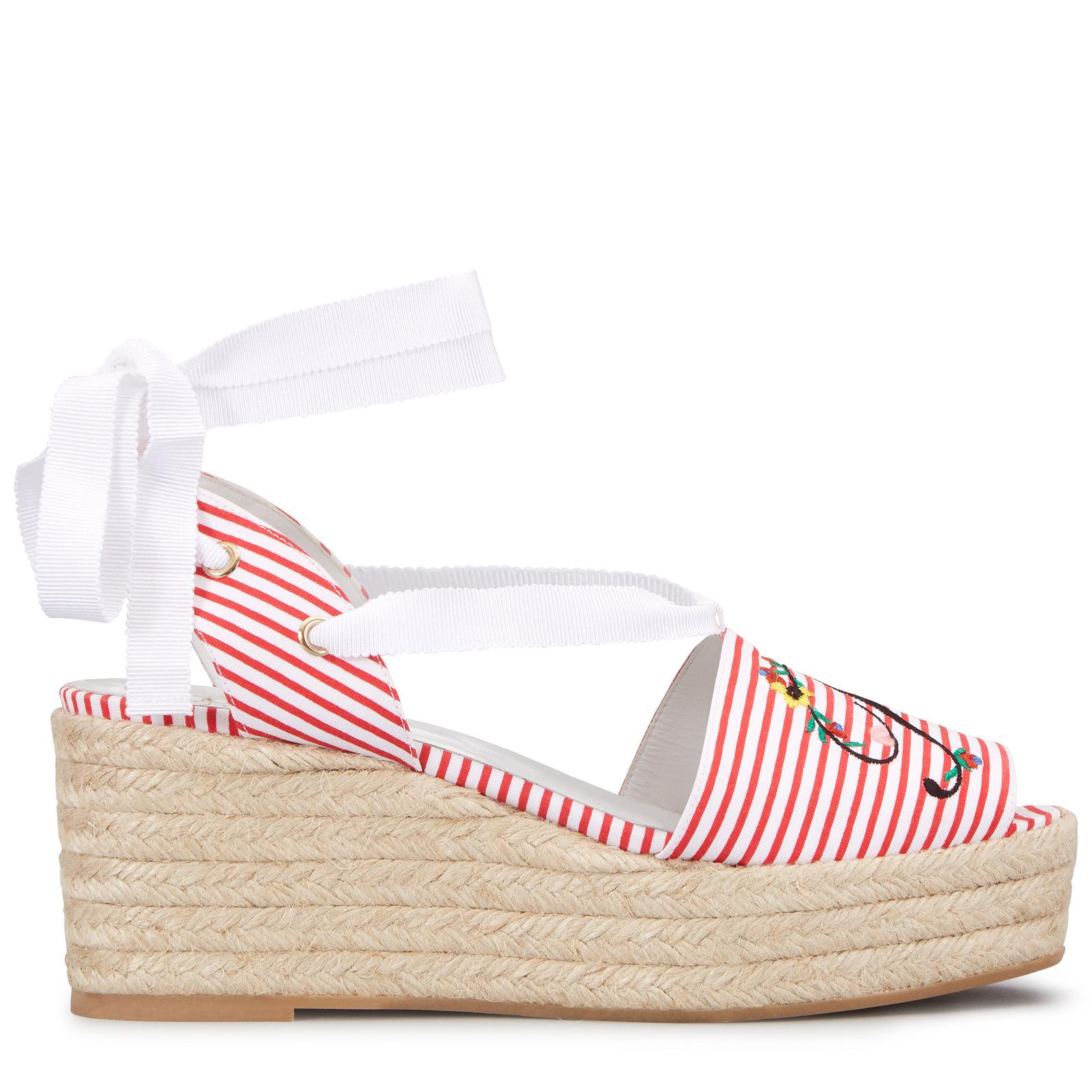 Roger Vivier Espadrilles Lace Up Blooming RV