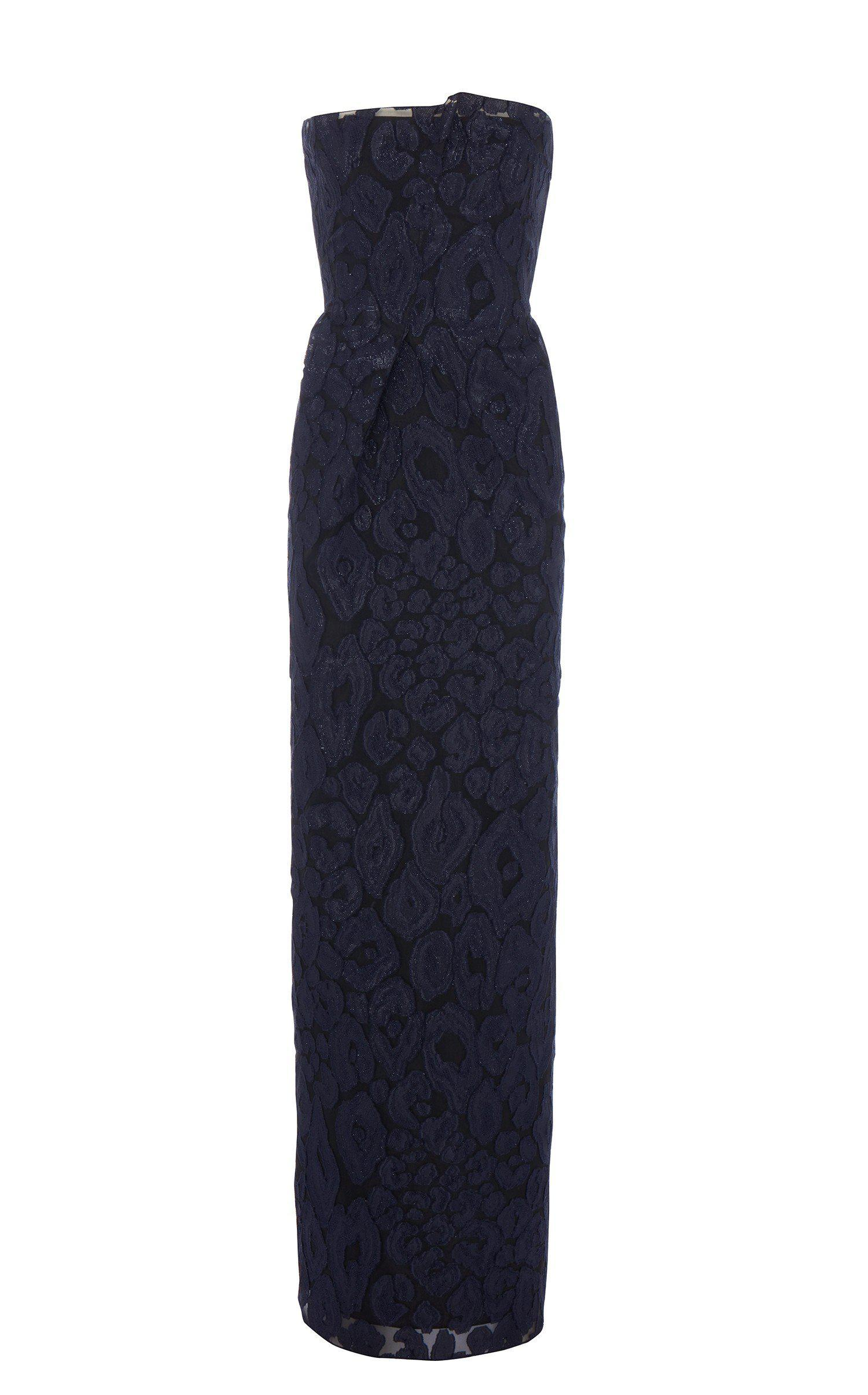 Lyst - Roland Mouret Henderson Gown in Blue - Save 60%